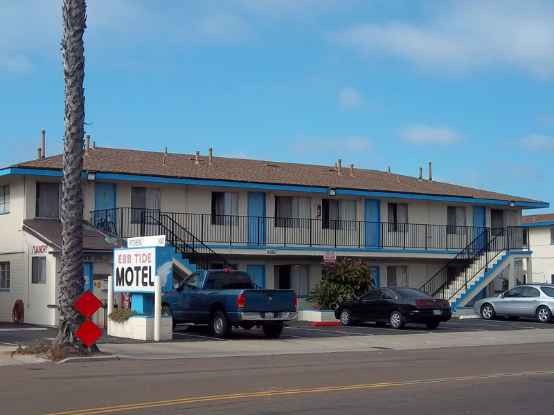 San Diego Hotels With Kitchens >> Ebb Tide Motel, Ocean Beach | Hitching Post Short-Term & Long-Term Residences San Diego County