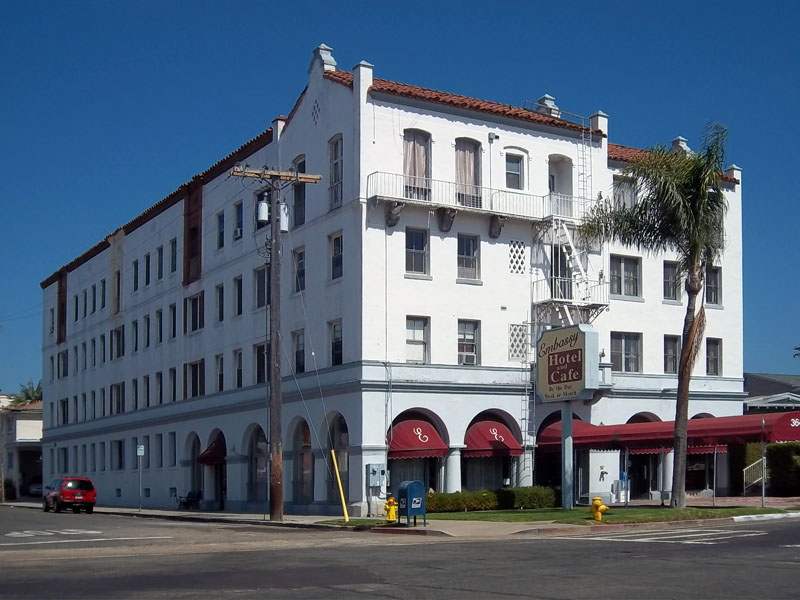 Embassy Hotel, Hillcrest, Balboa Park | Hitching Post ...